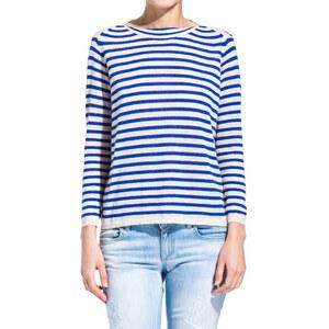 BELLEROSE striped sweater color blue