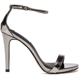 STEVE MADDEN stecy sandals color metalized gray