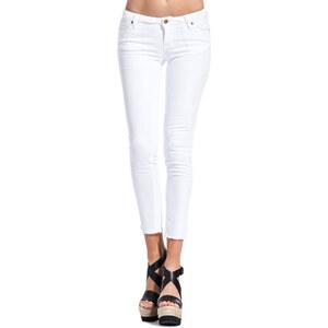 TRUE NYC amanda chew jeans color white