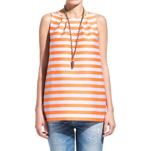 DEPARTMENT 5 tulip top with stripes color lilac