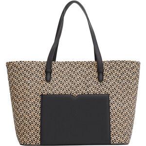 MANGO Shopper-Bag In Netz-Optik