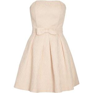 Morgan Robe bustier - rose clair