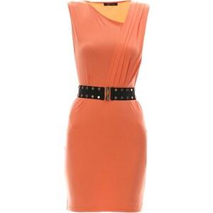 Marciano Guess Kleid mit fließendem Schnitt - lachsfarben