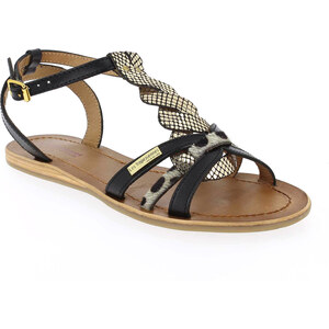 Sandales et nu-pieds Femme Les Tropéziennes par M Belarbi en Cuir Noir