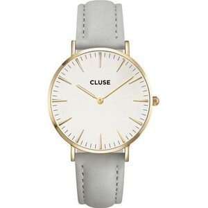 Montre Cluse La Bohème Gold White/Grey