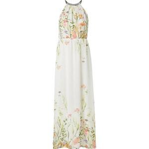 Esprit Collection Abendkleid mit floralem Muster und Collierkragen