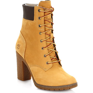 Timberland Bottes Womens Wheat Glancy 6 Inch Boots