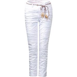 Cecil - Jean blanc froissé Scarlett - blanc denim