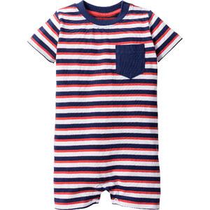 bpc bonprix collection Combinaison bébé manches courtes en coton bio, T. 56/62-92/98 blanc enfant - bonprix