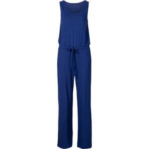 BODYFLIRT Combipantalon bleu sans manches femme - bonprix