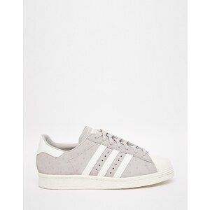 Adidas Orginals - Clear Granite Superstar - Baskets style 80's - Gris