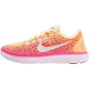 Nike Performance FREE RUN DISTANCE Laufschuh Natural running atomic orange/white/fresh pink/pink blast