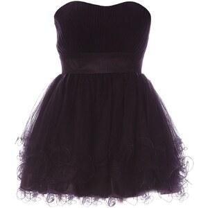 Faust Kleid mit Bustierschnitt - schwarz