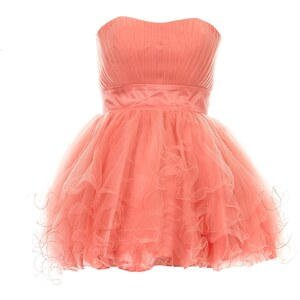 Faust Kleid in Babydoll-Optik - pfirsichfarben