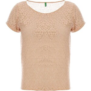Benetton T-shirt - beige