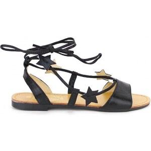 Sandale cuir ETOILE - Cendriyon
