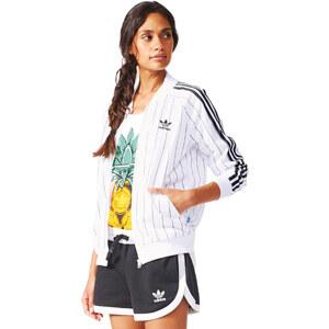 adidas Supergirl Tt W Trainingsjacke white/black