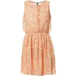 Benetton Kleid mit kurzem Schnitt - aprikose