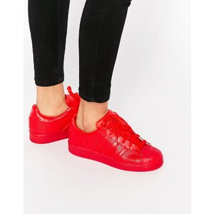 Adidas Originals - Superstar Super Colour - Baskets - Rouge écarlate