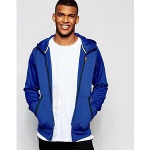 Nike AW77 727383 457 Sweat à capuche color block Bleu marine Bleu marine