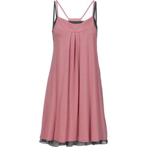RAINBOW Shirtkleid (2-tlg.) ohne Ärmel in rosa von bonprix
