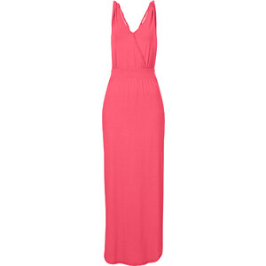 BODYFLIRT Shirtkleid ohne Ärmel in pink (Rundhals) von bonprix