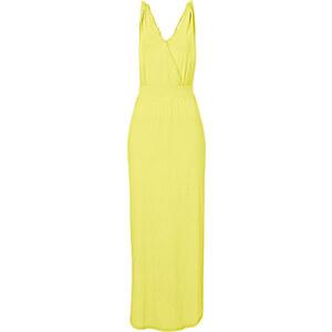 BODYFLIRT Shirtkleid ohne Ärmel in gelb (Rundhals) von bonprix
