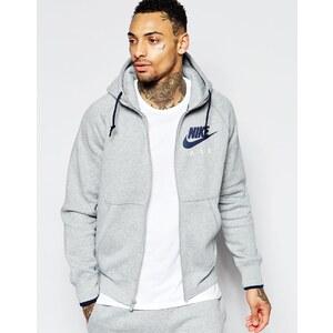 Nike - 727387-063 - Sweat à capuche zippé A/H 2077 - Gris - Gris