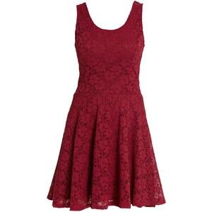 Morgan Robe droite - rouge