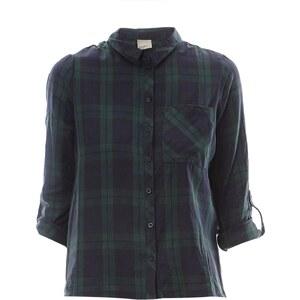 Vero Moda Hemd - dunkelgrün