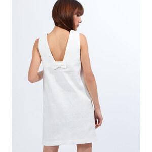 Robe texturée, détail nud dans le dos Etam
