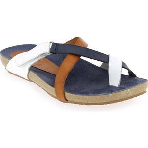 Sandales et nu-pieds Femme Yokono en Cuir Bleu