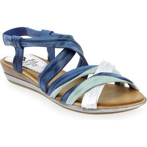 Sandales et nu-pieds Femme Marila en Cuir Bleu