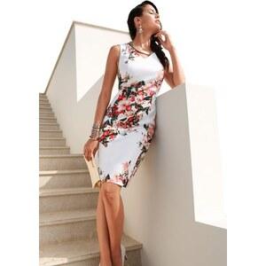 CRÉATION L Damen Création L Kleid in Stretch-Qualität bunt 36,38,40,42,44,46,48,50,52