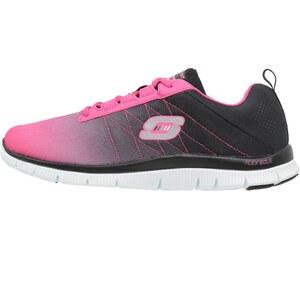 Skechers Sport FLEX APPEAL Sneaker low hot pink/black