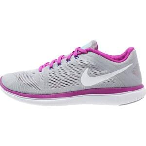 Nike Performance FLEX 2016 RUN Laufschuh Wettkampf wolf grey/white/hypr violet/concord