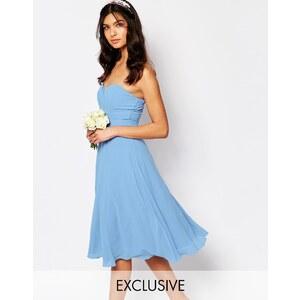 TFNC WEDDING - Robe mi-longue de bal de fin d'année - Bleu
