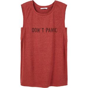 MANGO T-Shirt En Lin Message