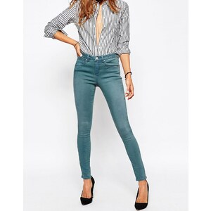 ASOS - Sculpt Me - Hochwertige Jeans in blauer Leela-Waschung - Verwaschenes Blau