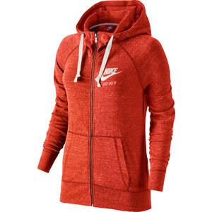Nike Gym Vintage W Hooded Zipper crimson/sail