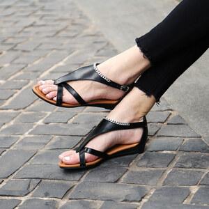 Lesara Zehensteg-Sandale mit Kette - 35