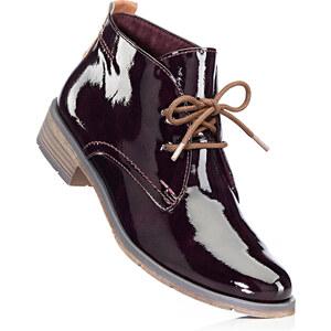 Chaussures à lacets rouge avec 3 cm talon carréchaussures & accessoires - bonprix