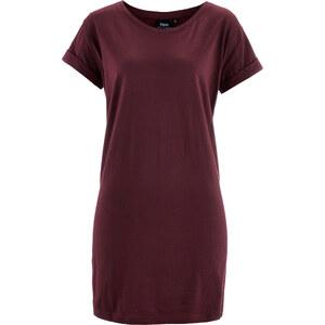 bpc bonprix collection T-shirt long boxy, manches courtes rouge femme - bonprix