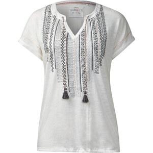 Cecil - T-shirt de style ethnique - pure off blanc