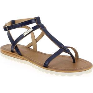 Sandales et nu-pieds Les Tropéziennes par M Belarbi EVALAN Bleu pour Femme en Cuir - Promo