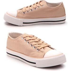 Lesara Klassische Sneaker Low - Beige - 36