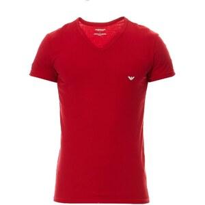 Emporio Armani Underwear Men T-shirt col V - rouge