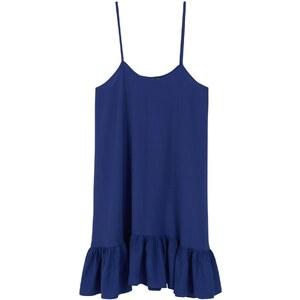 Mango Robe courte - bleu marine