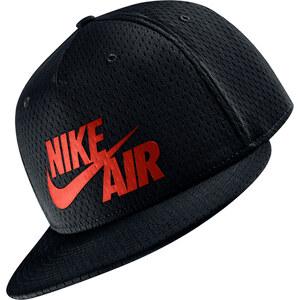 Nike Air Pivot True Snapback black/crimson