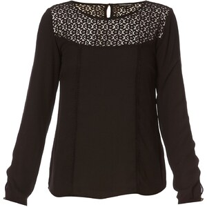 Best Mountain Blouse - noir